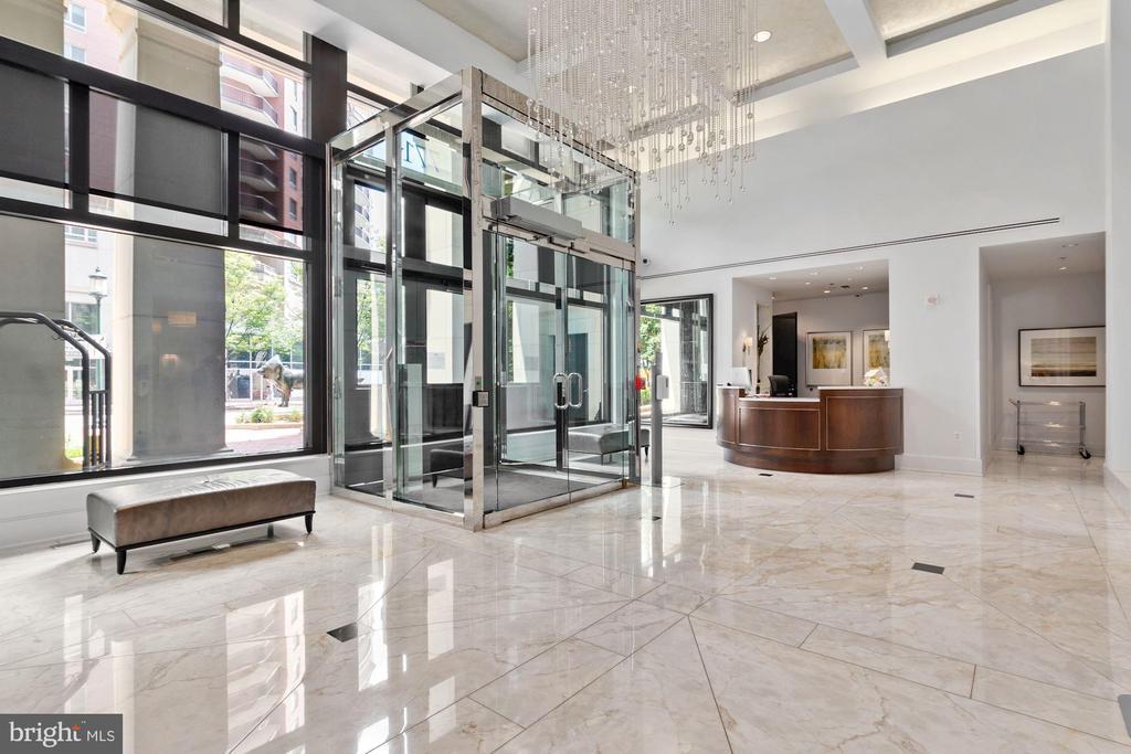 Lobby - 7710 WOODMONT AVE #1102, BETHESDA