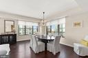 Dining Room - 7710 WOODMONT AVE #1102, BETHESDA