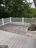 Deck off kitchen - 4 DONALDS LN, MOUNT AIRY