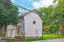 View from North Street - 109 WIRT ST NW, LEESBURG