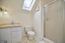 Existing Full Bathroom - 109 WIRT ST NW, LEESBURG
