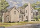 Architectural rendering of completed home - 109 WIRT ST NW, LEESBURG