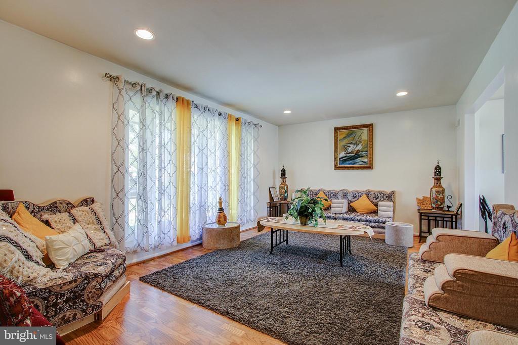 Main Level/Living Roomoom - 12521 SUMMERWOOD DR, SILVER SPRING