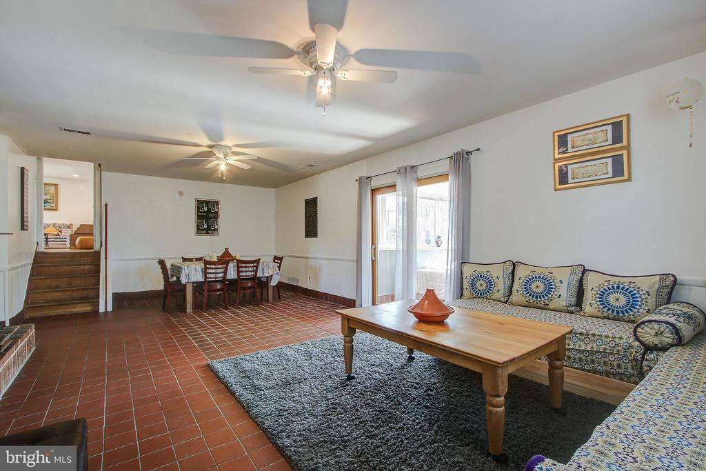 Lower Level/ Family Room - 12521 SUMMERWOOD DR, SILVER SPRING