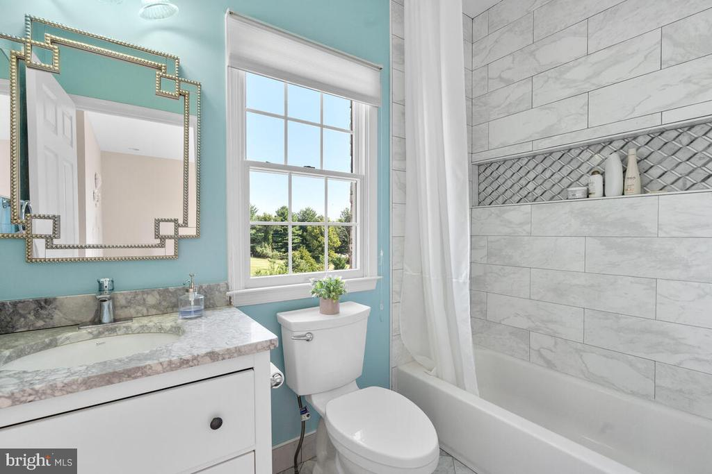 Six of the seven full baths have been redone. - 17566 TOBERMORY PL, LEESBURG