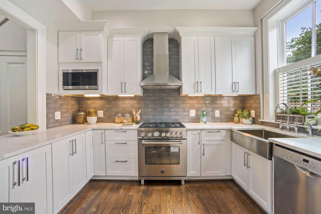 European Stainless Appliances & Marble Counters - 402 U ST NW, WASHINGTON