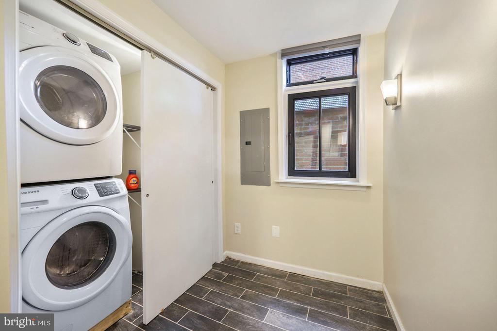 Laundry/Office Has Room for Desk - 402 U ST NW, WASHINGTON