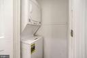 Main Floor Washer/Dryer & Closet - 402 U ST NW, WASHINGTON