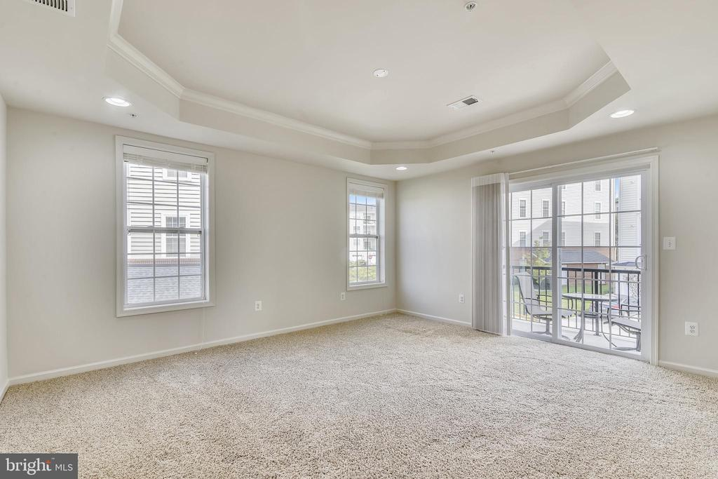 Primary bedroom with tons of light - 23542 HOPEWELL MANOR TER, ASHBURN