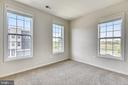 3nd bedroom with windows on two sides - 23542 HOPEWELL MANOR TER, ASHBURN