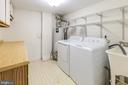 Main Floor Laundry with NEW washer/Dryer-Storage - 1967 KENNEDY #1967, MCLEAN
