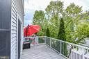Large deck off Kitchen - 42791 SMALLWOOD TER, CHANTILLY