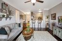 Kitchen Opens Beautifully to Living Room! - 20505 LITTLE CREEK TER #302, ASHBURN