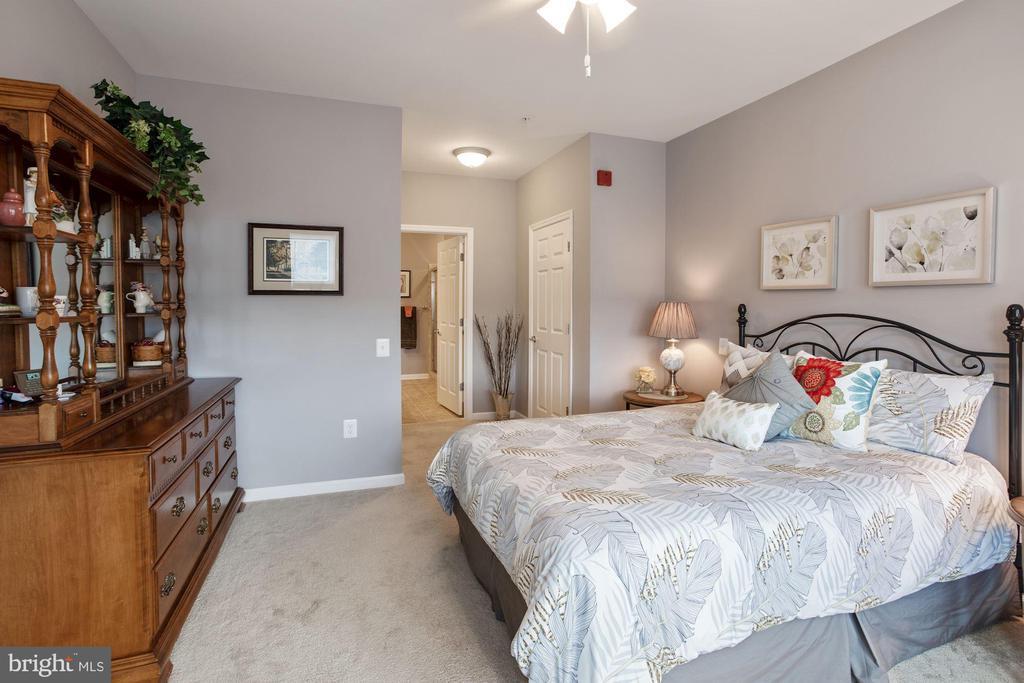 Primary Bedroom - Upgraded Padding & Carpet! - 20505 LITTLE CREEK TER #302, ASHBURN