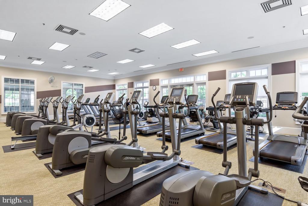 Community Fitness Center w/ Cardio & Weights! - 20505 LITTLE CREEK TER #302, ASHBURN