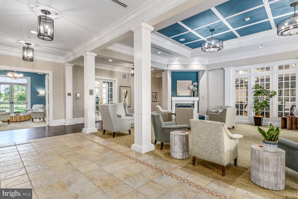Lobby & Roanoke Room - 20505 LITTLE CREEK TER #302, ASHBURN