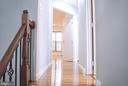 3rd level hallway - 18121 ROYAL BONNET CIR, GAITHERSBURG