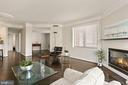 Spacious, Bright Living area - 901 N MONROE ST #601, ARLINGTON