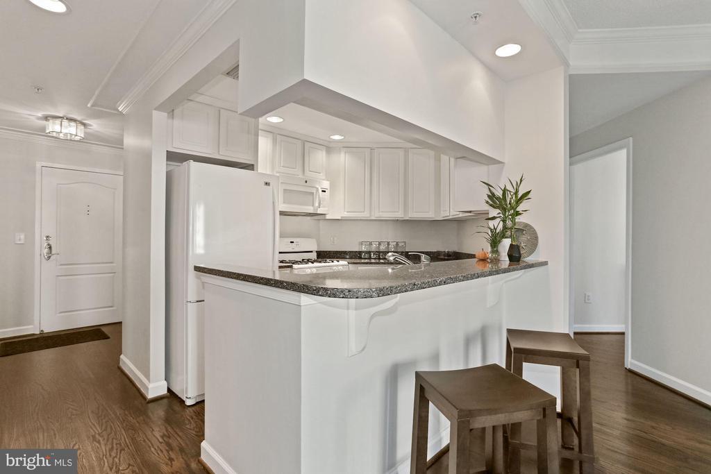 Updated Kitchen - 901 N MONROE ST #601, ARLINGTON