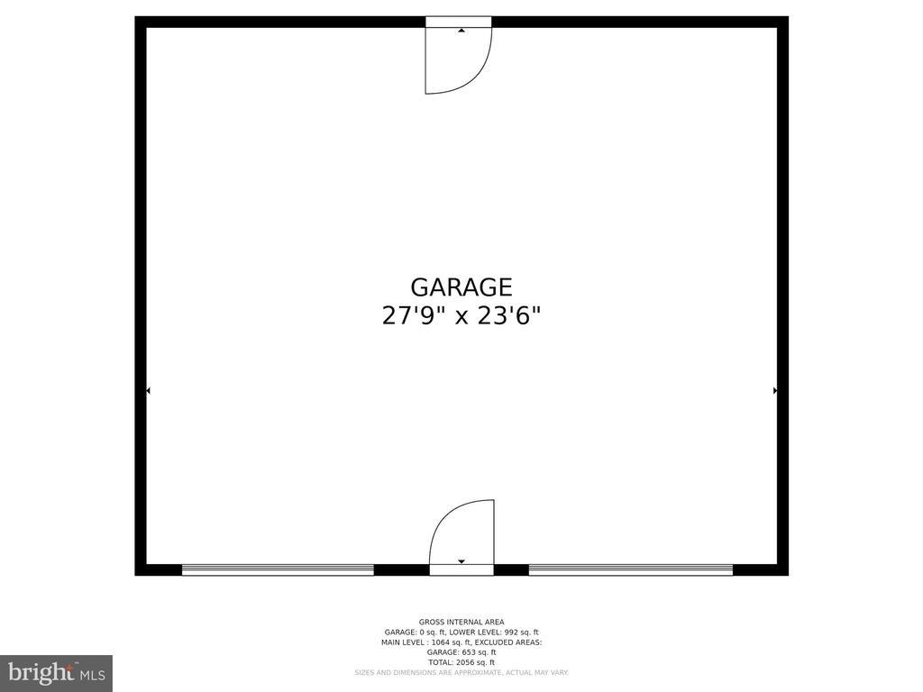 Garage - 4317 VALLEY STREAM AVE, BURTONSVILLE