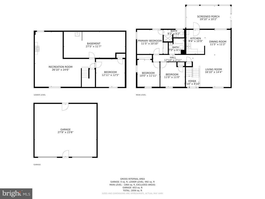 Floor Plan - 4317 VALLEY STREAM AVE, BURTONSVILLE
