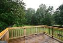 Back Deck View - 10635 PINEY BRANCH RD, SPOTSYLVANIA
