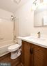 Downstairs Full Bath - 10635 PINEY BRANCH RD, SPOTSYLVANIA