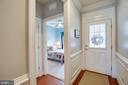 View from entry into bedroom on main level - 238 LONG POINT DR, FREDERICKSBURG