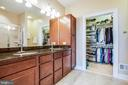 Granite countertops, dual sinks & walk-in closet - 238 LONG POINT DR, FREDERICKSBURG