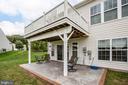 Trex & vinyl deck plus stamped concrete patio! - 238 LONG POINT DR, FREDERICKSBURG