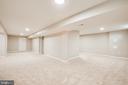 Newly finished basement - 67 SAINT ROBERTS DR, STAFFORD