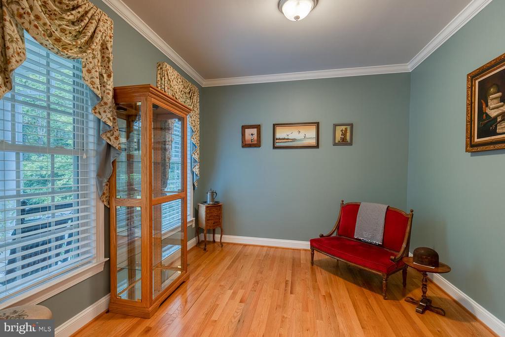 Nice size sitting room/Den - 8635 LAROQUE RUN DR, FREDERICKSBURG