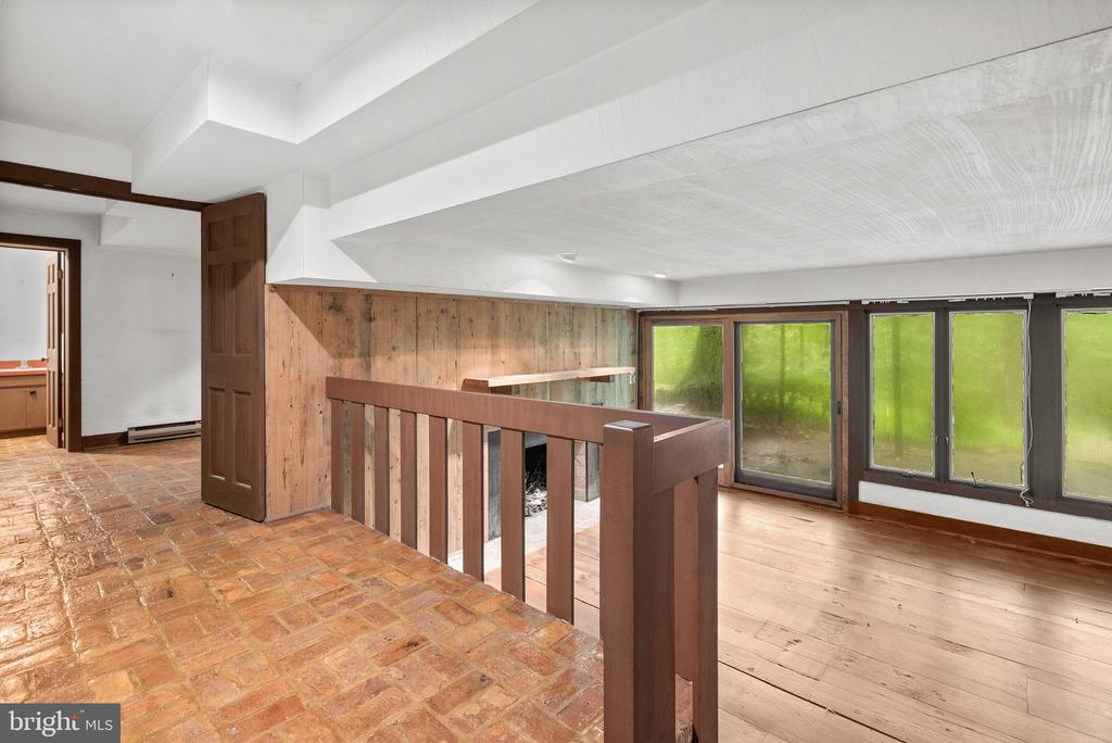 Lower Level Rec Room with Sliders to Patio - 7335 DANCE HALL RD, FREDERICK