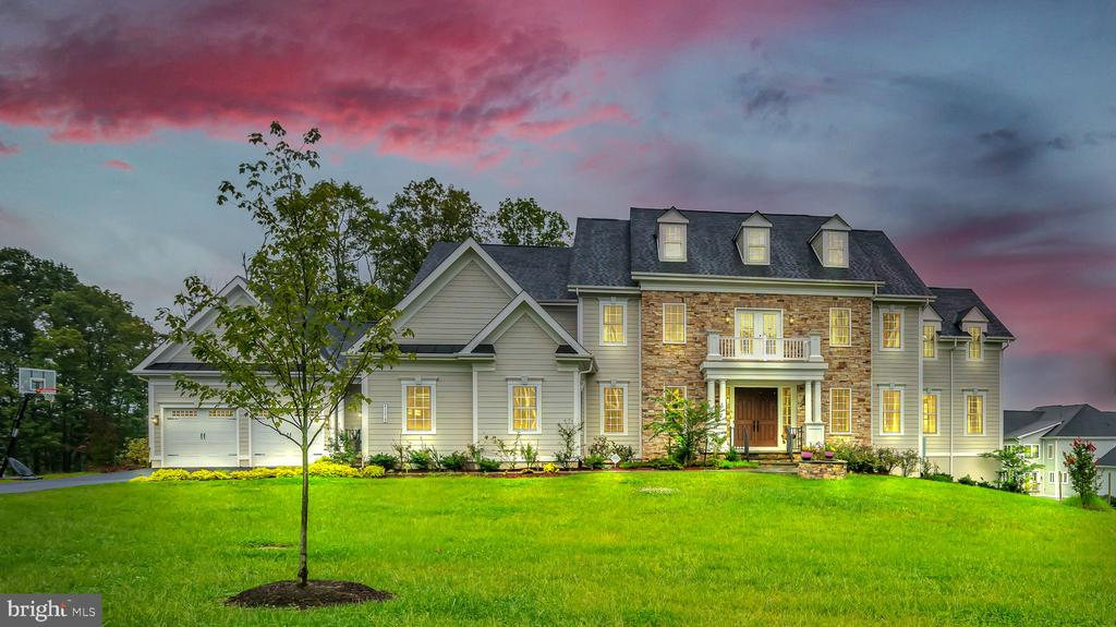 Twilight Front View - 41219 TRAMINETTE CT, ASHBURN