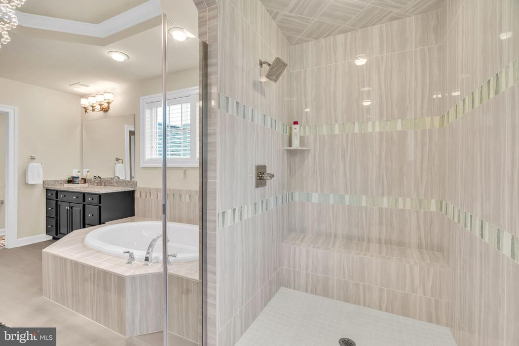 Spa MBA w/upgraded12x24 Tiles & Dual Shower Heads - 41219 TRAMINETTE CT, ASHBURN