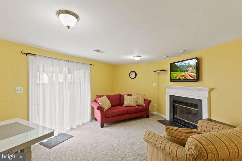Lower level Family Room / Office Space - 22082 MANNING SQ, STERLING
