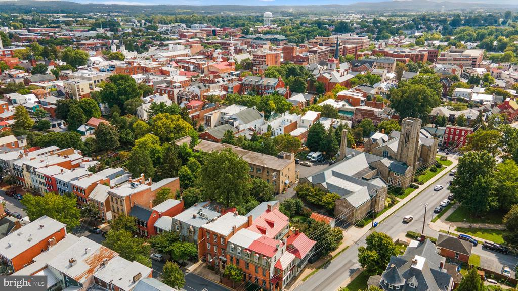 VIEW TO HISTORIC DISTRICT - 130 W THIRD ST, FREDERICK