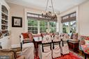 Breakfast RM, Built-in  & Bench Seating - 7549 FINGERBOARD RD, FREDERICK