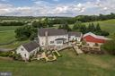 Aerial View of Rear Elevation - 7549 FINGERBOARD RD, FREDERICK