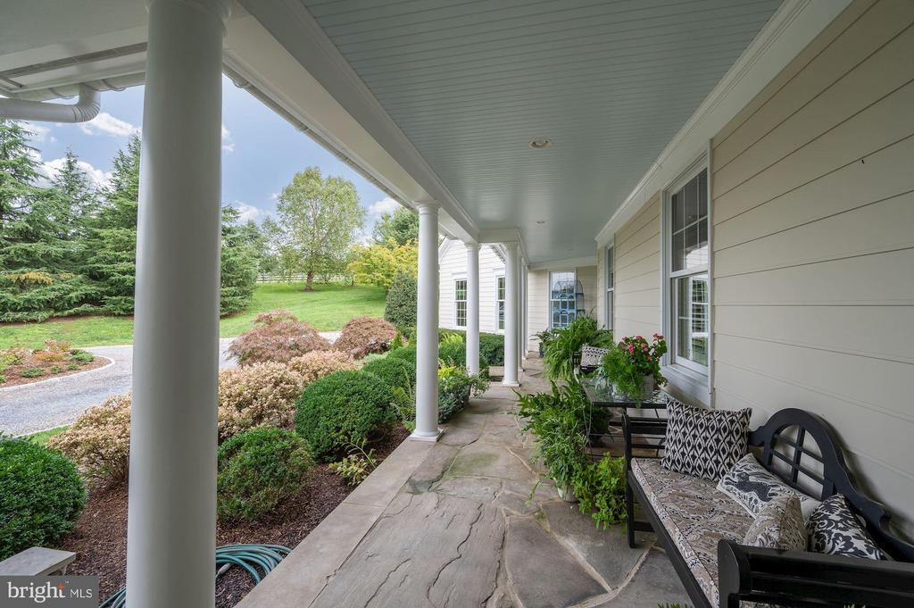 Front Porch Extends to Secondary Entry - 7549 FINGERBOARD RD, FREDERICK