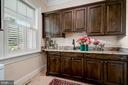 Laundry Room, Sink & Cabinetry - 7549 FINGERBOARD RD, FREDERICK