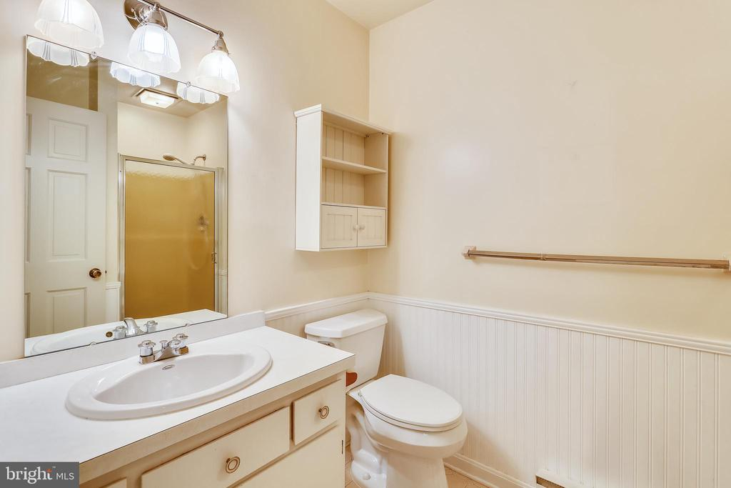 Lower level full bath - 16509 MAGNOLIA CT, SILVER SPRING