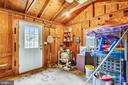 Pool shed - 16509 MAGNOLIA CT, SILVER SPRING