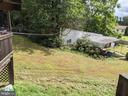View of yard from Deck - 11291 PINE HILL RD, KING GEORGE
