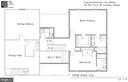 Upper floor plan drawing - 109 WIRT ST NW, LEESBURG