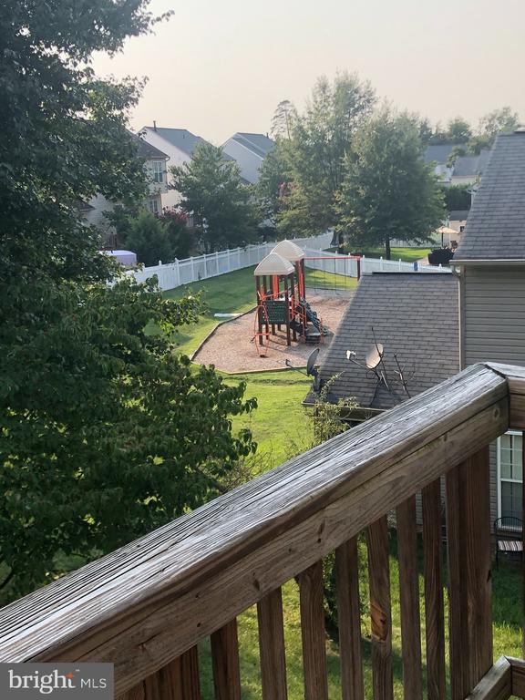 Playground view from rear of home! - 3045 PONY RIDGE TURN, DUMFRIES