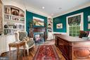 Study, Fireplace & Library Built - 7549 FINGERBOARD RD, FREDERICK