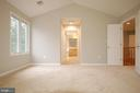 Spacious primary bedroom with TWO walk-in closets - 8599 EASTERN MORNING RUN, LAUREL