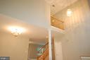 Two-story foyer - 8599 EASTERN MORNING RUN, LAUREL