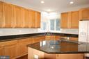 Gourmet kitchen - 8599 EASTERN MORNING RUN, LAUREL